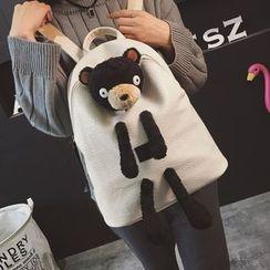 薇薇 - 熊贴布绣背包