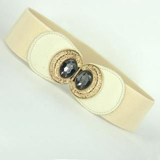 Jamie - Jeweled Elastic Belt