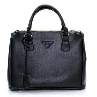 Life 8 - Faux-Leather Shoulder Bag