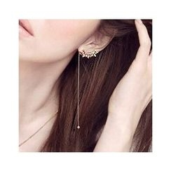 Sunsped - Rhinestone Non-Matching Earrings