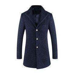 Cipher - Woolen Long Coat