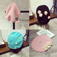 Dollu - 毛呢贝雷帽