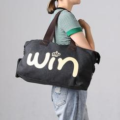 MooMoo Bags - 字母帆布旅行包