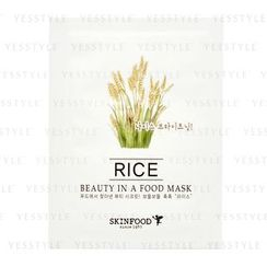 Skinfood - Beauty In A Food Mask Sheet (Rice)