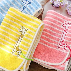 BEANS - 長頸鹿條紋毛巾