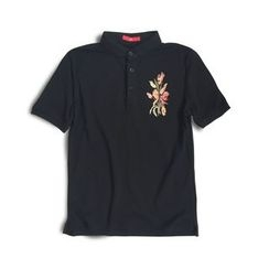 Troopers - Short-Sleeve Embroidery Polo Shirt