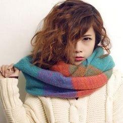 Yarnie - 混色針織圍巾