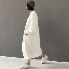 MATO - Plain Maxi Pullover Dress
