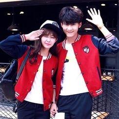 Sienne - Couple Matching Baseball Jacket