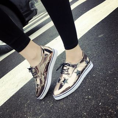 BAYO - Metallic Star Oxfords