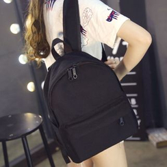Suis MOI - Plain Canvas Backpack