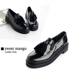SWEET MANGO - Tassel-Accent Loafers