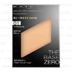Kate - Secret Skin Maker Zero (Powder Foundation without Case) SPF 18 PA++ (#01)
