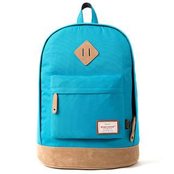 Mr.ace Homme - Paneled Canvas Backpack