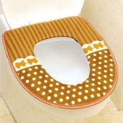 Livesmart - Polka Dot Toilet Seat Cover