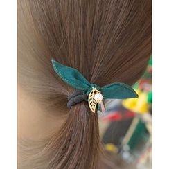 Miss21 Korea - Bow Elastic Hair Tie