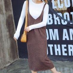 Romantica - Set: Knit Top + Knit Tank Dress