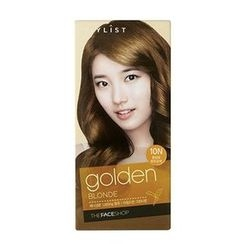 The Face Shop - Stylist Silky Hair Color Cream (#10N Golden Blonde) 130ml