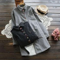 YOYO - Fleece-Lined Long Shirt