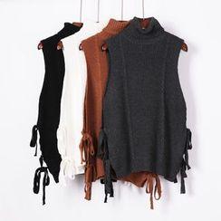 City of Dawn - Turtleneck Knit Vest