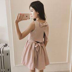 Bloombloom - Sleeveless A-line Dress