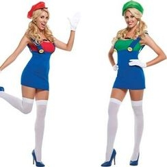 Whitsy - Super Mario Bros. Cosplay Costume