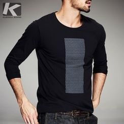 Quincy King - Long-Sleeve Print T-Shirt