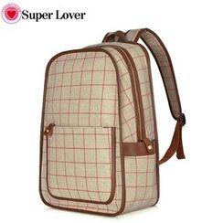 SUPER LOVER - Check Backpack