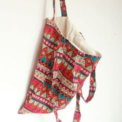 TangTangBags - Patterned Canvas Shopper Bag