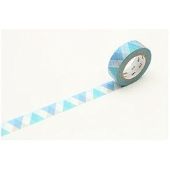 mt - mt Masking Tape : mt 1P Triangle & Diamond Blue