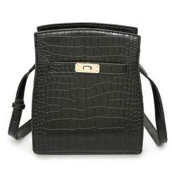 Secret Garden - Textured Shoulder Bag