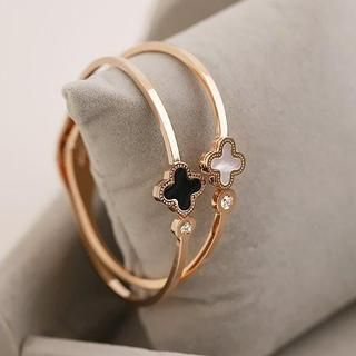 Love Generation - Four-Leaf Clover Bangle