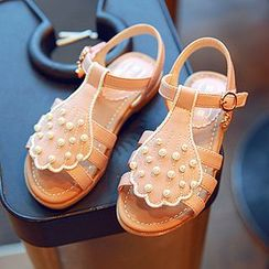 BOOM Kids - Kids Faux Pearl Sandals