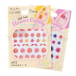 LUCKY TRENDY - Flower Candy Nail Seal (#01 #02)