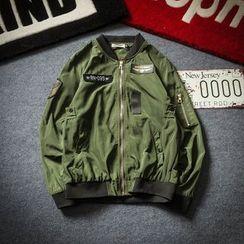 Telvi - Printed Bomber Jacket