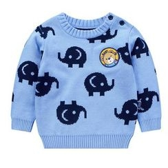 Ansel's - Kids Elephant Sweater