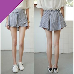 Whitney's Shop - Mock Two-Piece Shorts