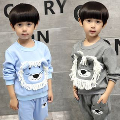 SEE SAW - Kids Set: Printed Pullover + Pants