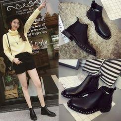 Laceuplux - Plain Ankle Boots