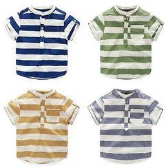 WellKids - 儿童条纹衬衫