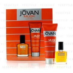 Jovan - Musk Coffret: After Shave 15ml/0.5oz + After Shave Balm 75ml/2.5oz