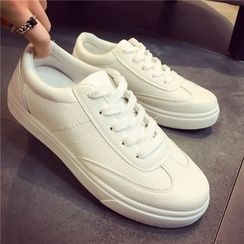 Hipsole - Faux-Leather Sneakers