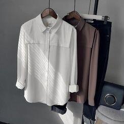 芷蓯夕 - 純色襯衣
