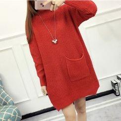 Emeline - 口袋毛衣裙
