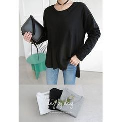 Miamasvin - Round-Neck Loose-Fit T-Shirt