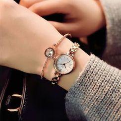 Honey Bee - Metallic Bracelet Watch