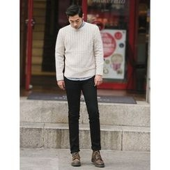 STYLEMAN - Plain Slim-Fit Pants