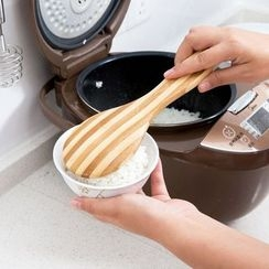 Home Simply - Striped Bamboo Rice Spoon