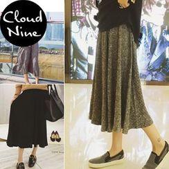 Cloud Nine - Knit Maxi Skirt