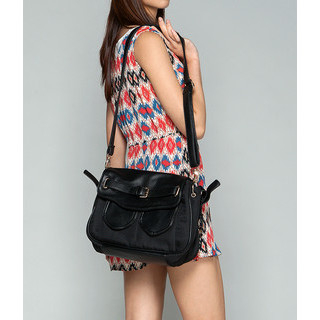 59 Seconds - Dual-Pocket Shoulder Bag